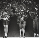 Camp Lakecrest Campers As Trees, Dutchess County, N.Y. 1968 later gelatin silver print of Neil Selkirk 20 x 16 inch / 50.8 x 40.6 cm © Estate of Diane Arbus